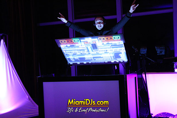 Miami Wedding DJ Technology