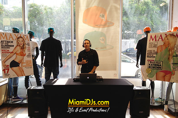 Miami Retail DJ