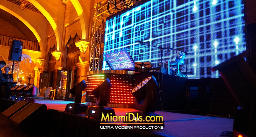 LED Video Wall Rental – Miami DJs | Miami DJ | Miami Wedding